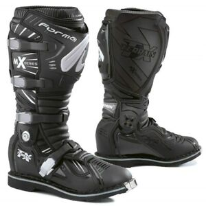 Forma MX Terrain TX Black Off Road Dirt Bike Bike Boots