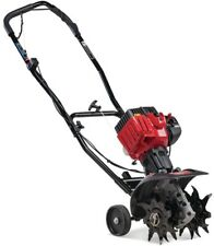 9 in. Gas Cultivator Compact 25cc 2-Cycle Engine w/ Four Forward-Rotating Tines