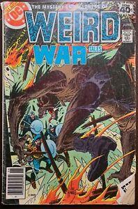 WEIRD WAR TALES #76  The Fire Bug  1979  FR