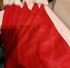 NEW = Christmas Santa Hats x6