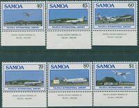 Samoa 1988 SG773-778 Faleolo Airport set MNH