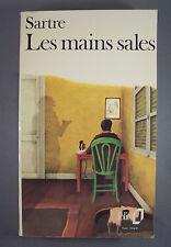 JEAN-PAUL SARTRE / LES MAINS SALES / POCHE FOLIO