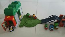 Fisher Price Thomas Knapford Station + 7 Thomas Train Tank, Used in VGC $55.00