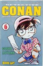 MANGA COMIC ART DETECTIVE CONAN N.6