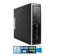 HP Elite 8200 SFF Intel Core i5 8GB RAM 320GB SSD Windows 10 Desktop PC WiFi