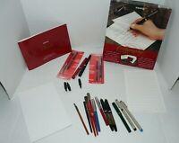 Vtg Sheaffer Eagle Esterbrook Kohinoor Pigma Calligraphy Drafting Fountain Pen