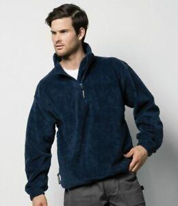 SALE!- Grizzly® 3/4 Zip Active Chunky Men's Fleece Jacket- outerwear RRP £24.99