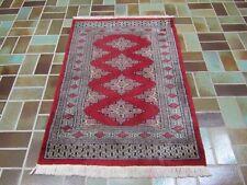 Alter Handgeknüpfter Perser Orientteppich Buchara Carpet Old Rug Tapis 119x80cm