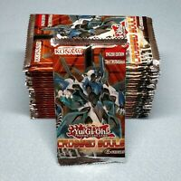 Yugioh 1st Edition Crossed Souls 24 Booster Packs = Box Quantity Unsearched New