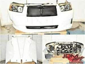 Used JDM Subaru Forester SG9 White Front End Conversion