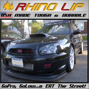 SUBARU Exiga R2 R1 R1e Ractis Trezia Front Rubber Bumper Splitter Chin Lip Trim