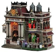 Lemax Spooky Town Halloween The Blood Bank