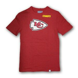 Kansas City Chiefs NFL Men's Majestic Short Sleeve T-Shirt New Without Tags