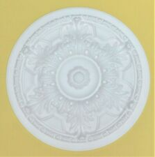 "44.5cm (17 1/2"") - 'ACANTHUS LEAF' Ceiling Rose Size  Lightweight Polystyrene"