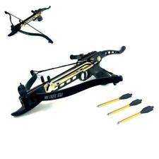 80 LB ARCHERY HUNTING Gun SELF COCKING PISTOL CROSSBOW W/ 3 ARROWS BOLTS