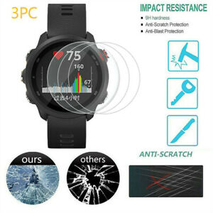 3× For Garmin Forerunner 945 245 Tempered Glass Screen Protector 9H Hardness