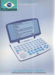ECTACO Portuguese Talking Electronic Dictionary & Phrasebook