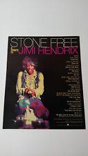 Stone Free A Tribute To Jimi Hendrix (1993) Rare Original Print Promo Poster Ad