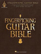 Fingerpicking Guitar Bible Sheet Music Guitar Tablature Book NEW 000691040