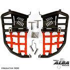 Polaris Predator 500 Nerf Bars Pro Peg Alba Racing Black/Red 208 T7 BR