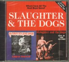 Slaughter And The Dogs(CD Album)Where Have All The Boot Boys Gone?-Rece-New