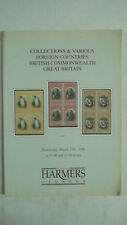 Harmers of London Auction Catalogue March 1996 Foreign Countries Great Britain