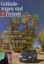 Mercedes G-modelo G-clase todoterreno ocio revista folleto 2001 52