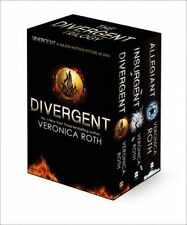 Divergent Trilogy Boxed Set by Veronica Roth (Books 1-3)