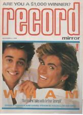 RECORD MIRROR MAGAZINE  NOVEMBER 3 1984  WHAM   LS