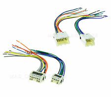 New Car Stereo Radio Receiver Male & Female Wiring Harness For Select Nissan