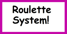 Square Roulette System.  Safe, Effective and Just a £20.00 Bankroll!
