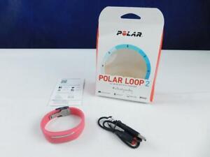 Polar Loop 2 Activity Tracker Fitness Armband Aktivitätentracker pink