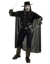 "V For Vendetta Mens Costume, Standard, CHEST 44"", WAIST 30 - 34"", INSEAM 33"""