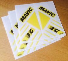 Mavic 3G Trispoke style wheel decals stickers carbon front rear 700c 650c