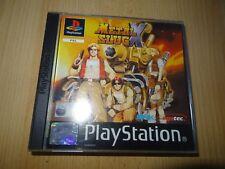 Metal Slug X Playstation 1 PS1 - PAL VERSION mint collectors