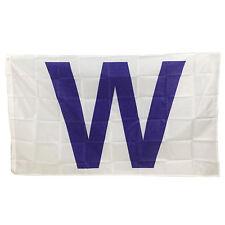 Chicago Cubs Fans W Flag Polyester Win Banner Baseball Team Outdoor 3 x 5 feet