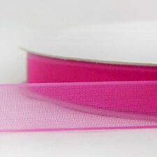 "1"" 25mm Mixed Colors Sheer Organza Ribbon 5 yard Craft Wedding Gift Packing DIY"