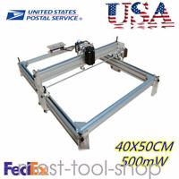 CNC ROUTER Mini Laser Engraver DIY Wood Milling Carving Machine 500mW 40X50CM