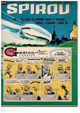 ▬► Spirou Hebdo n°1314 du 20 Juin 1963 - COMPLET AVEC mini-récit -