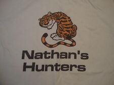 Nathan's Hunters Tiger White Nathan party birthday gift punk rock T Shirt XL