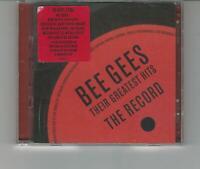 CD DOPPIO BEE GEES :THEIR GREATEST HITS THE RECORD 2001 COME NUOVO NON SIGILLATO