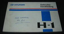 Gebruikshandleiding Hyundai H-1 Betriebsanleitung Bedienungsanleitung Stand 1997