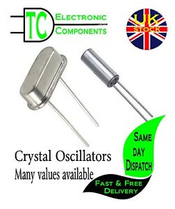 Crystal oscillators 32KHz-48MHz available twin pack  **UK SELLER** Free P&P