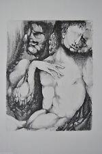 Original-Radierungen (1950-1999) mit figürlichem Motiv