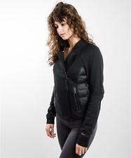 Nike Tech Pile Aeroloft Moto Giacca Da Donna Medio Nero RRP £ 150 GRATIS P&P