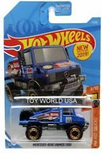 2019 Hot Wheels #7 HW Hot Trucks Mercedes-Benz Unimog 1300