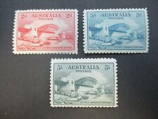 Pre decimal Stamps: 5/-Bridge Set Mint  - Great Item (e406)