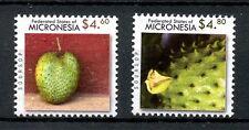 Micronesia 2010 MNH Fauna Flora High Val Definitives 2v Set Soursop Fruit Stamps