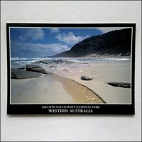 Leeuwin Naturaliste National Park WA Cape Freycinet Beach 1998 Postcard (P432)