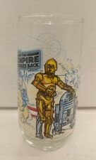 1980 Burger King Empire Strikes Back Collectors Cup Star Wars R2D2 C3PO